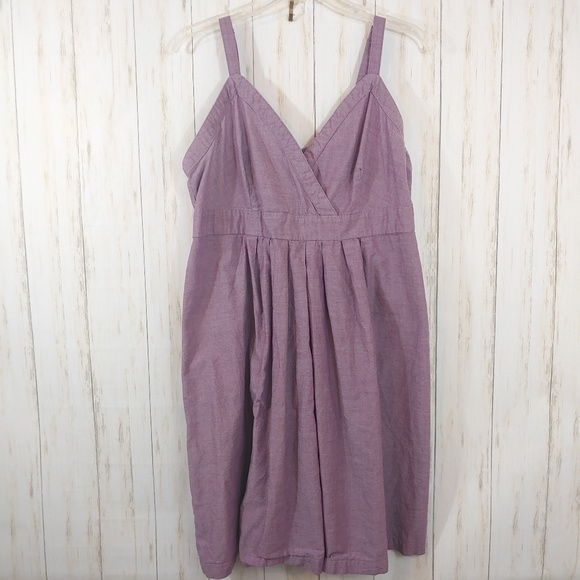 Merona Dresses & Skirts - MERONA Purple Summer Sun Dress Plus Size XXL